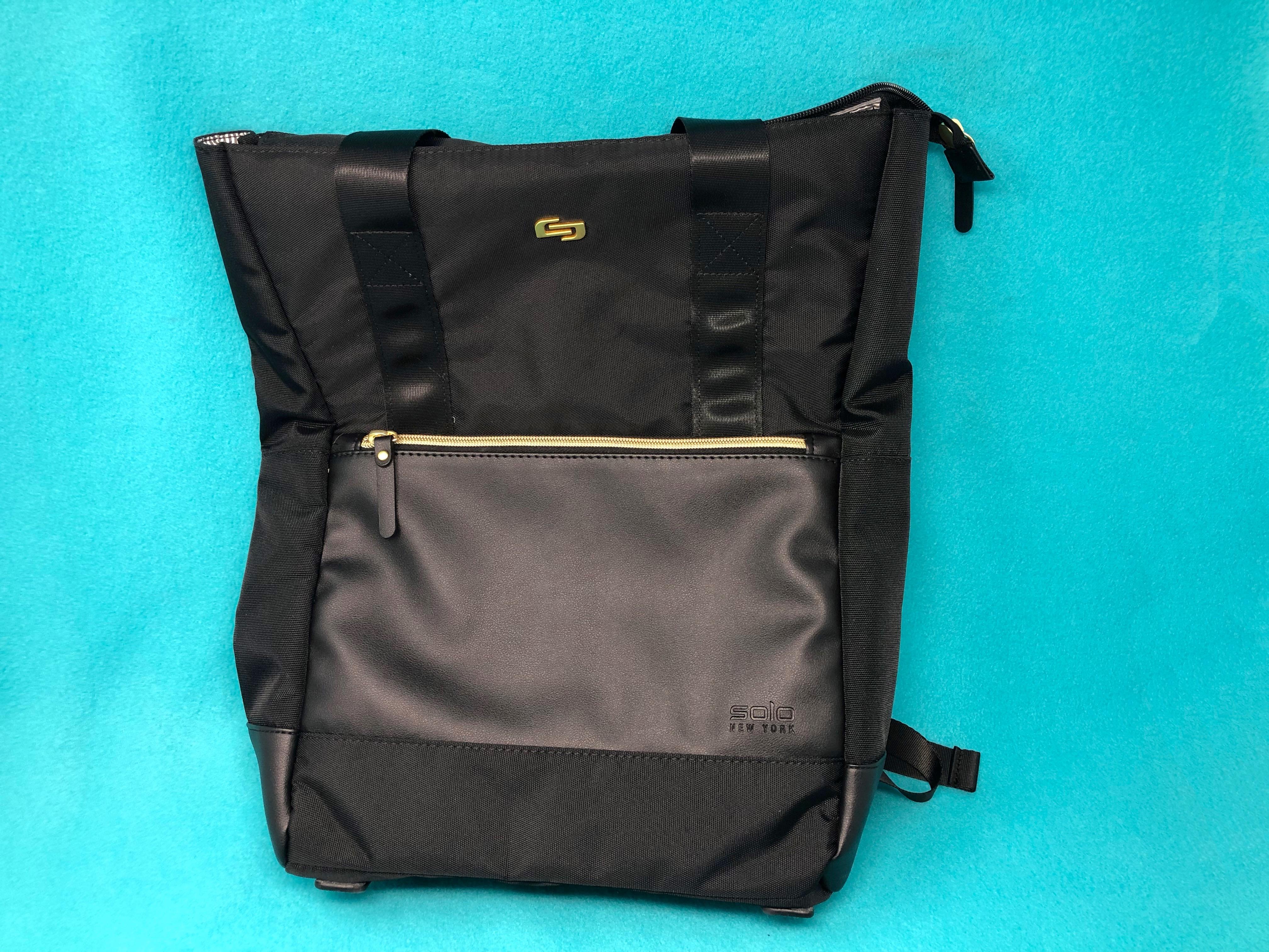Solo Parker Parker Hybrid Backpack tote bag review