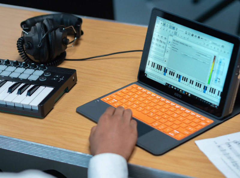 Kano lets kids build their own Windows 10 laptop