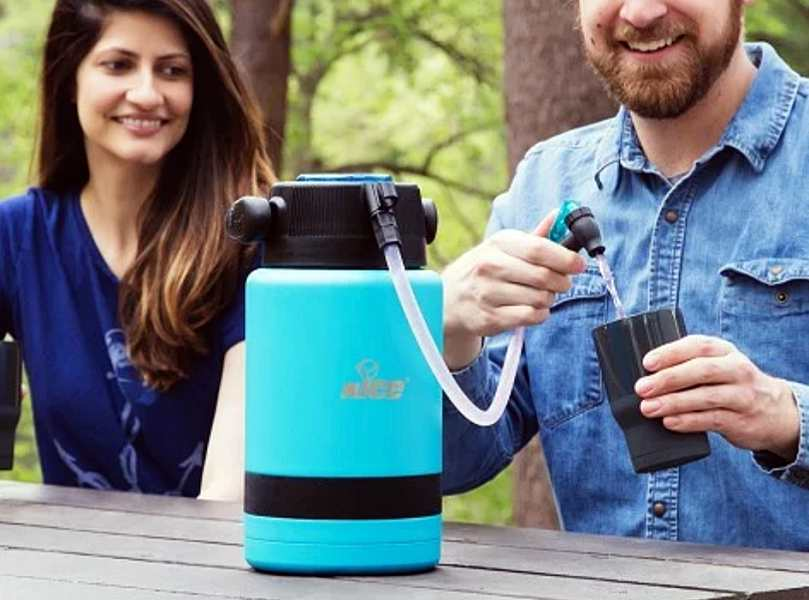 The Pump2Pour insulated jug keeps your favorite beverages on tap – The Gadgeteer