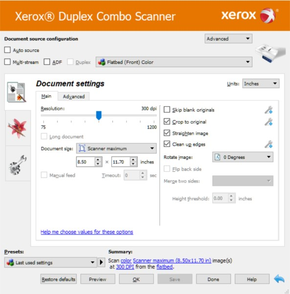 Xerox Duplex Combo Scanner review – The Gadgeteer