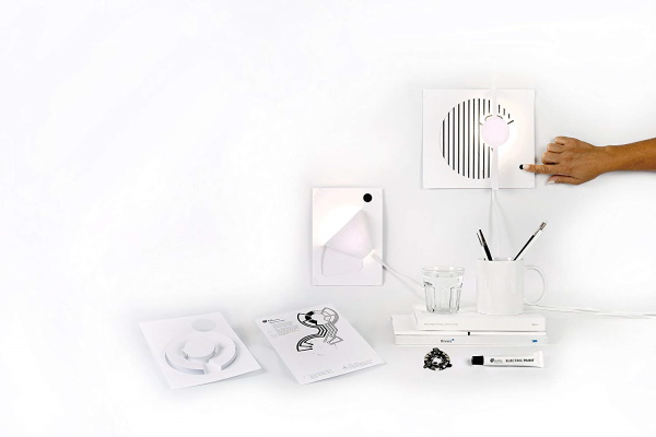 Turn paper into light with the Bare Conductive Electric Paint Lamp Kit – The Gadgeteer