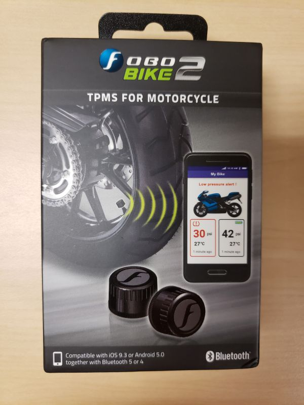 Fobo Bike2 TPMS (tire pressure management system) for motorcycles review