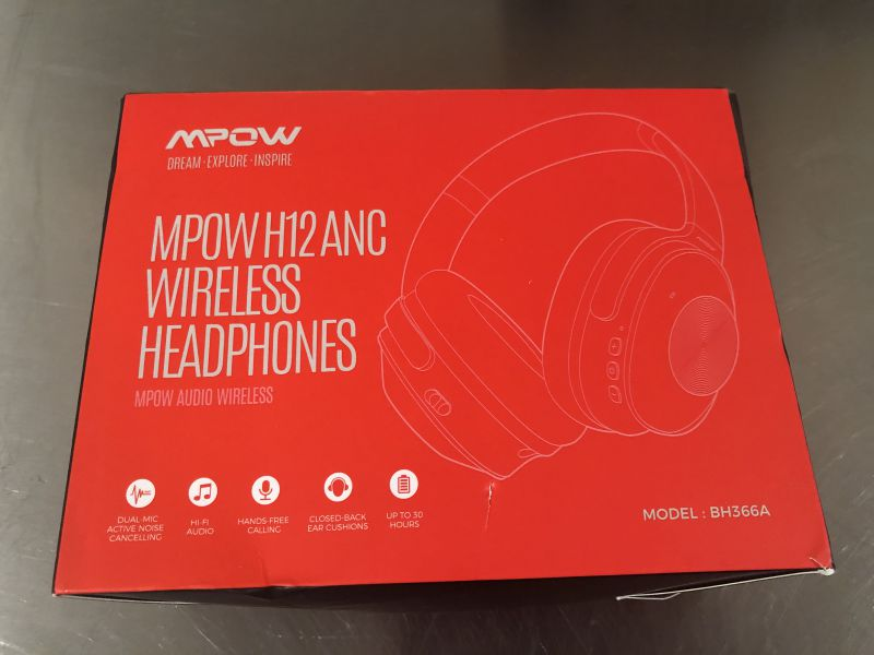 Mpow Hybrid Active Noise Cancelling Headphones review