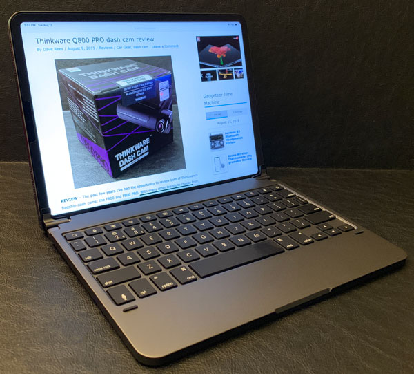 BRYDGE PRO Bluetooth keyboard for the 2018 iPad Pro review