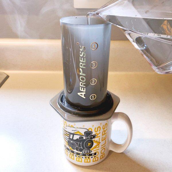 AeroPress coffemaker 13