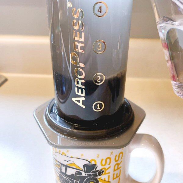 AeroPress coffemaker 14