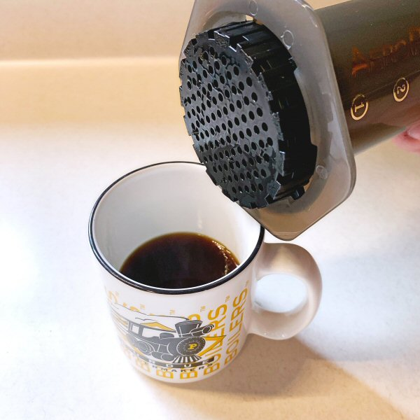 AeroPress coffemaker 18