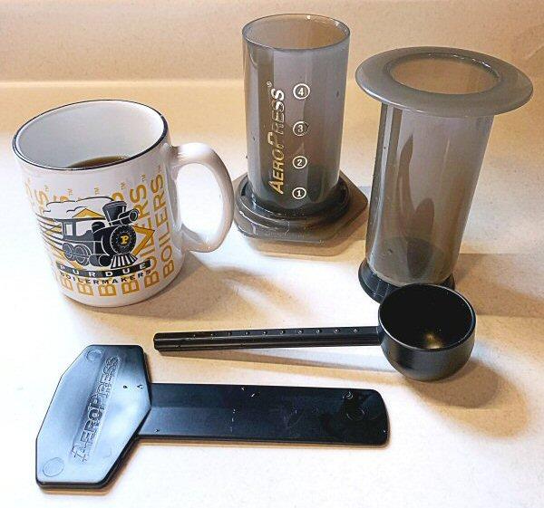AeroPress coffemaker 23 1