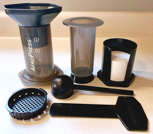 AeroPress coffemaker 28