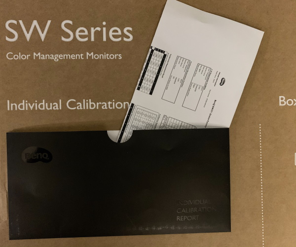 BenQ SW271 Monitor 1