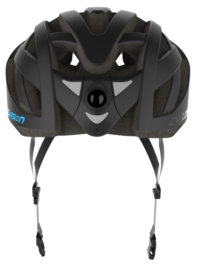 CycleVision integrates front and rear-facing cameras to bike helmets – The Gadgeteer
