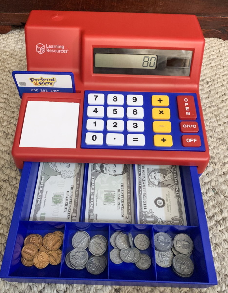 Calculator cash registor 3