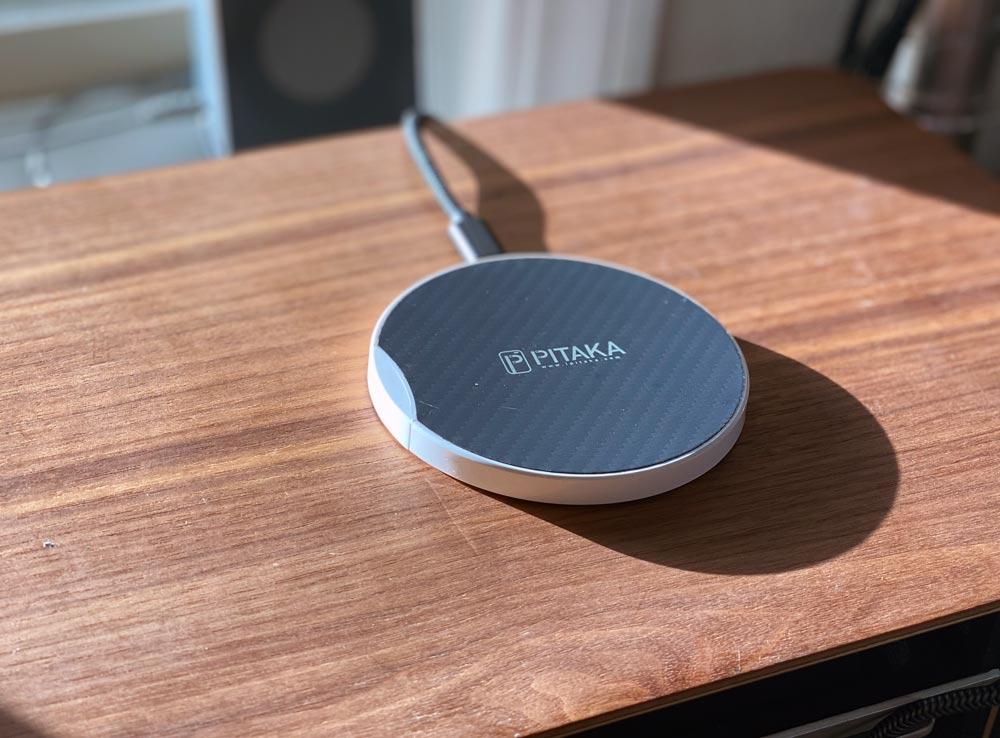 Pitaka Fast Wireless Charging Pad review