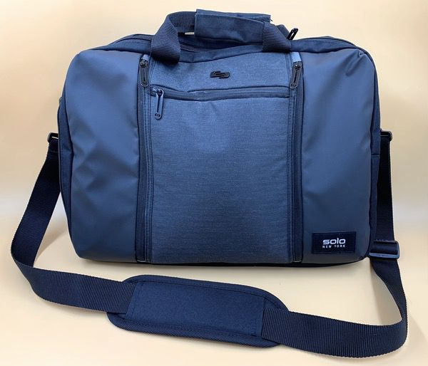 Solo New York Gravity Highpass Hybrid Briefcase Backpack Review The Gadgeteer