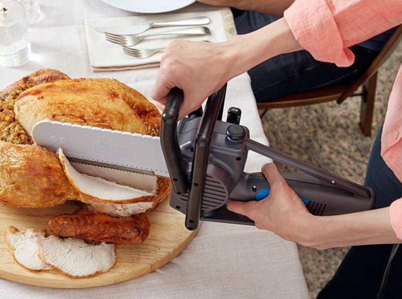 Carving the Thanksgiving turkey will never be boring again thanks to the Mighty Carver – The Gadgeteer