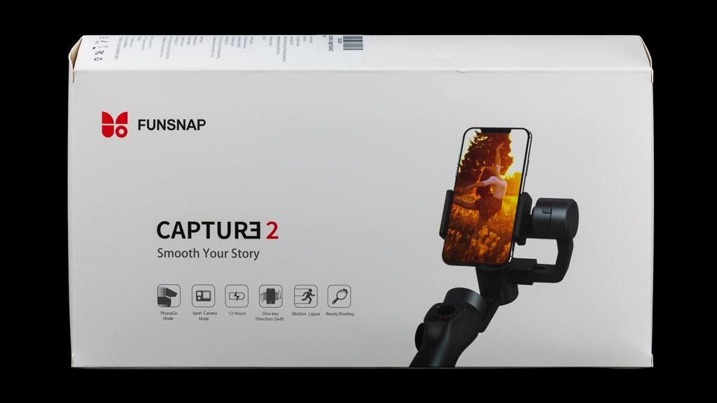 Funsnap Capture 2 smartphone gimbal review