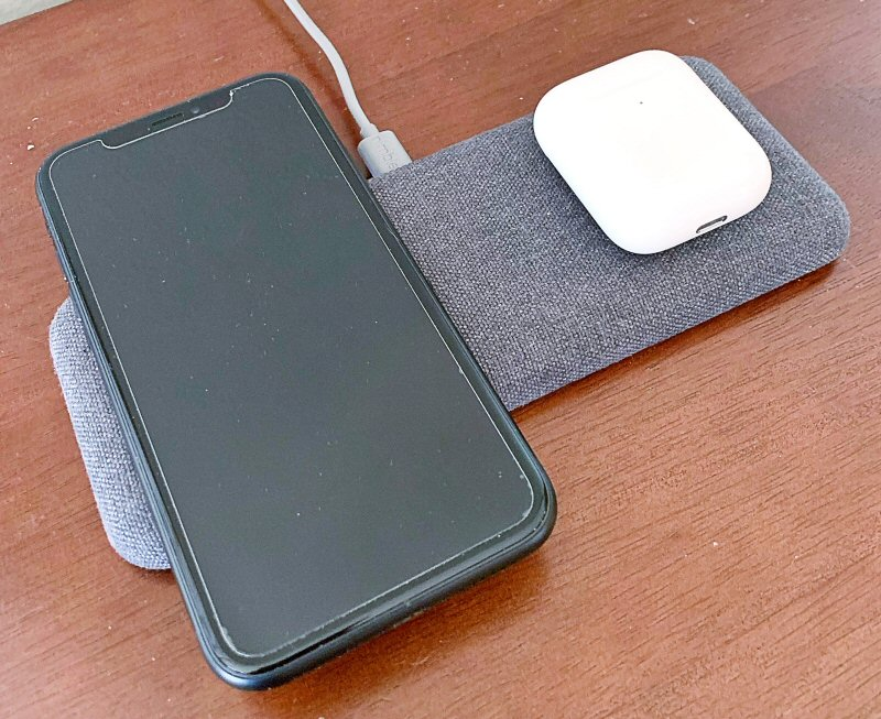 Nimble Wireless Dual Pad charger review – The Gadgeteer