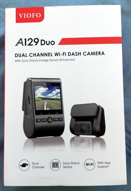 VIOFO A129 Duo dash cam review