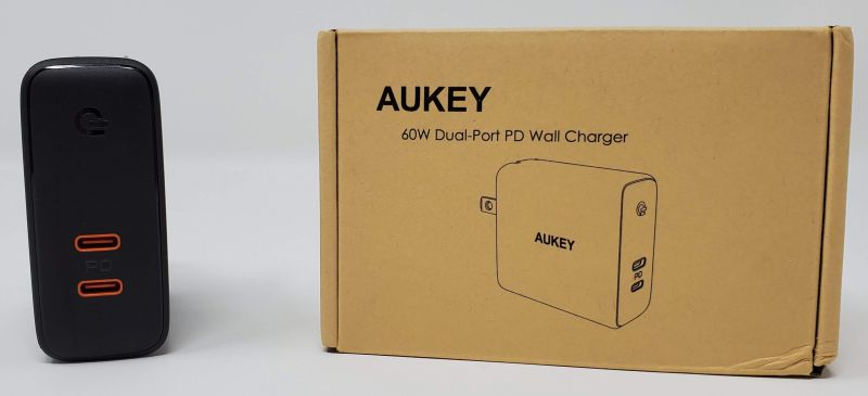 Aukey Focus Duo 60 Watt Wall Charger Review – The Gadgeteer