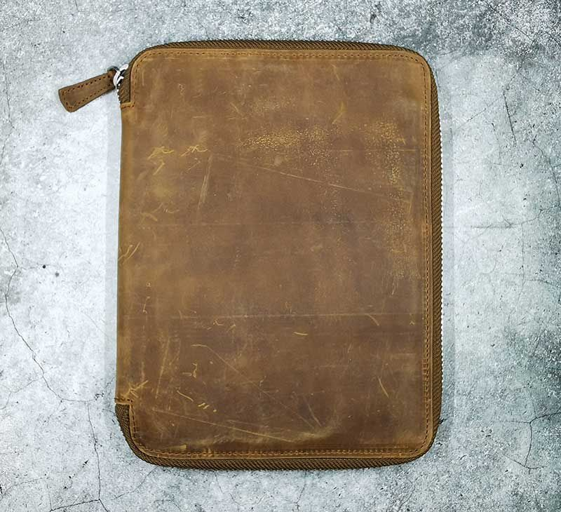 galen leather a5 17