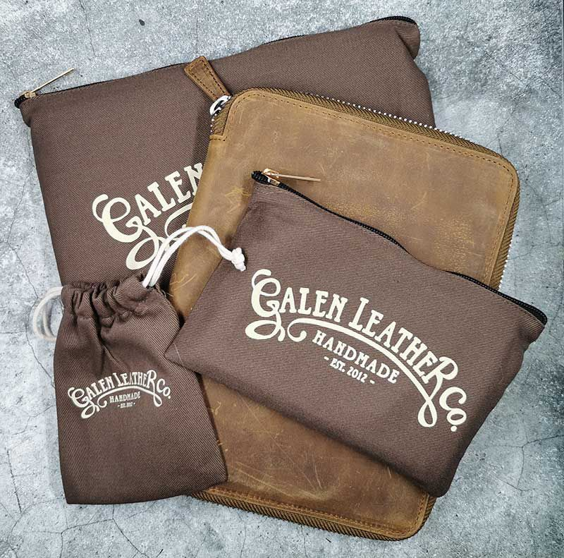 galen leather a5 18