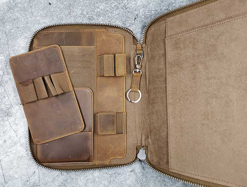 galen leather a5 5