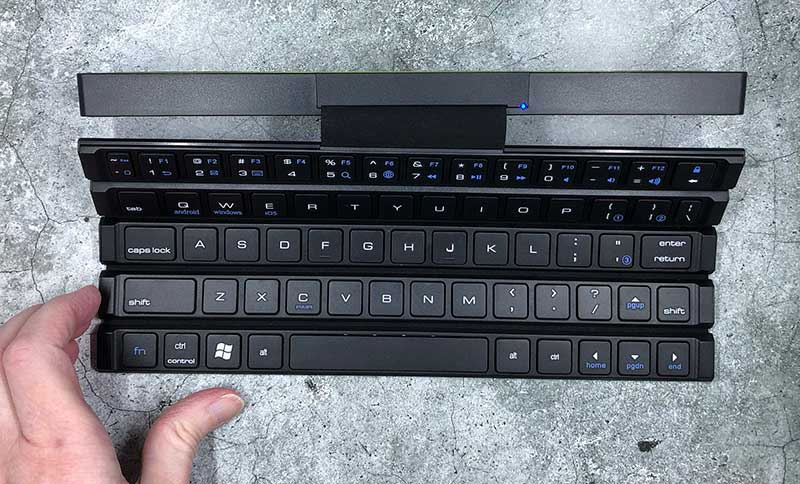 rollable keyboard 8