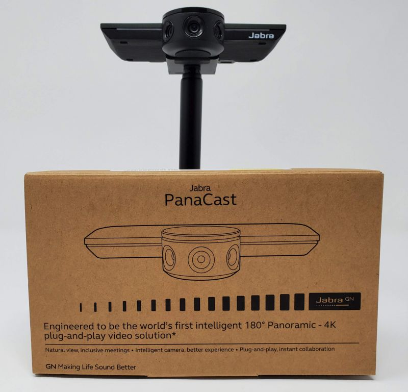 Jabra Panacast packaging