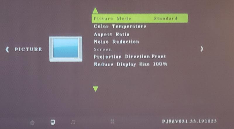 vankyo projector 10