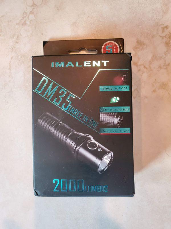 Imalent DM35 LED flashlight review