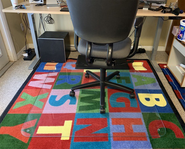 Vitrazza Glass Office Chair Mats Review Did You Say Glass The Gadgeteer