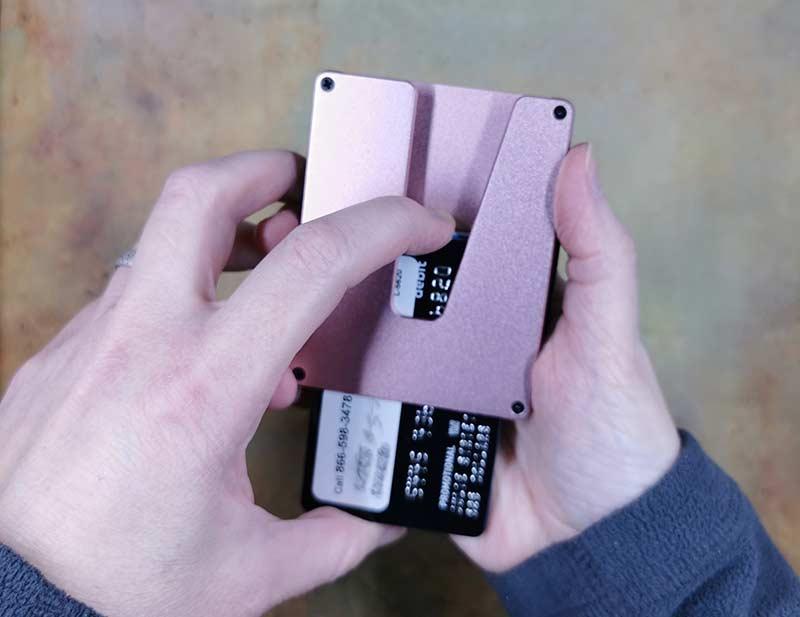 vext slim wallet 2
