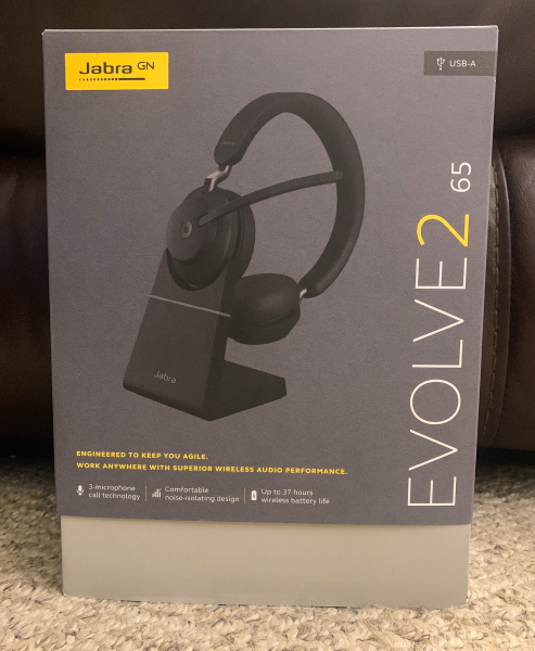 Jabra Evolve2 65 Bluetooth Headset Review The Gadgeteer