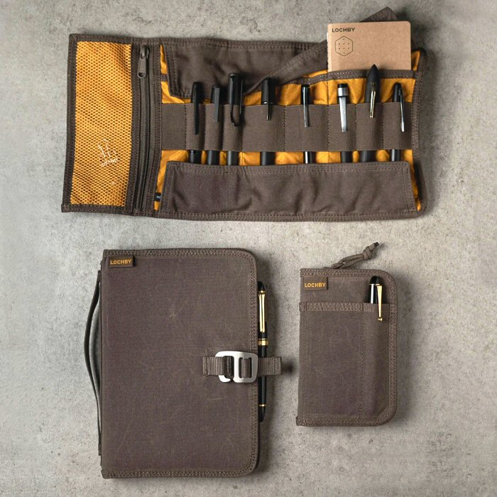 Lochby Journals and Tool Roll have a rugged, adventurous style – The Gadgeteer