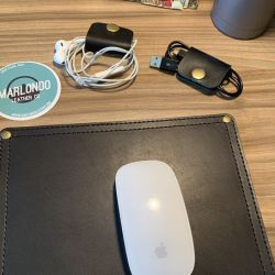 Marlondo Leather Mousepad and Cord Keepers review