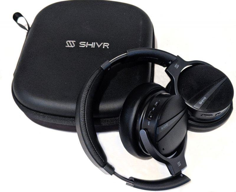 Shivr 3d Noise Canceling Bluetooth Headphones Review The Gadgeteer