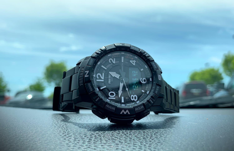 Casio PRO TREK PRTB50YT-1 Quad Sensor Bluetooth Connected Watch review