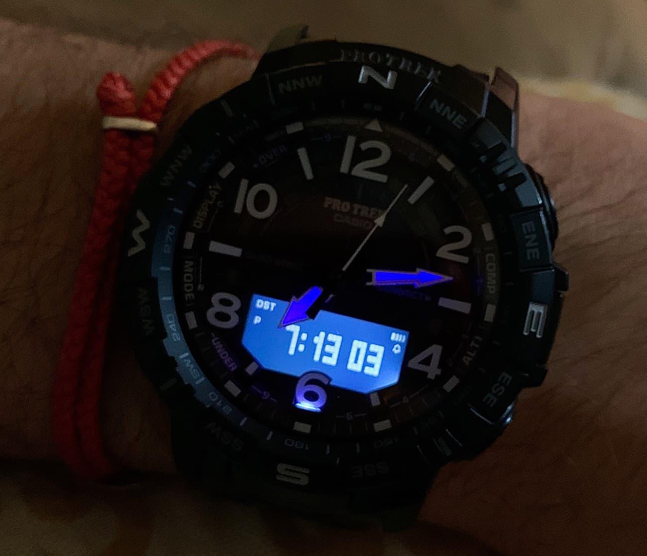 Casio PRO TREK PRTB50YT 1 Watch 008