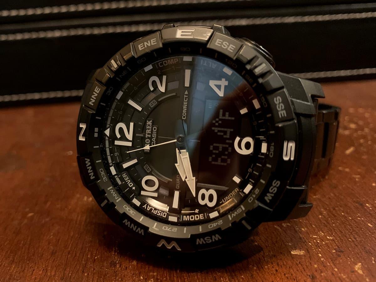 Casio PRO TREK PRTB50YT 1 Watch 009