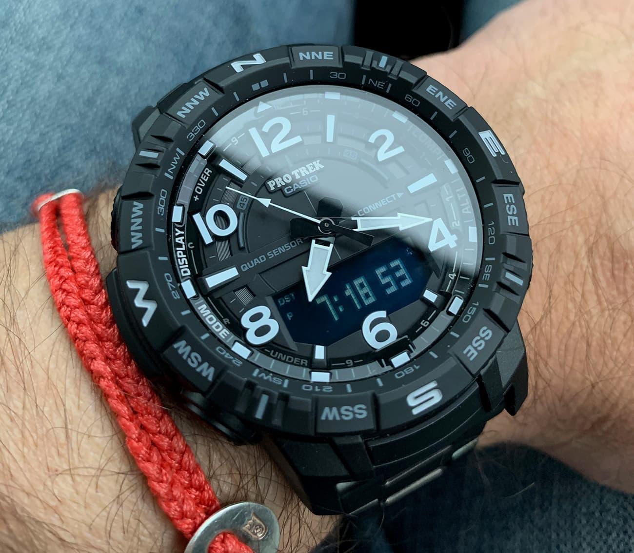 Casio PRO TREK PRTB50YT 1 Watch 010