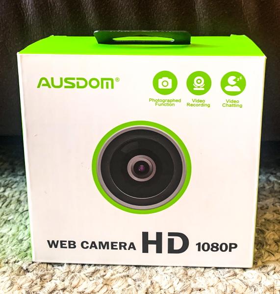 Ausdom 1080P Webcam 2