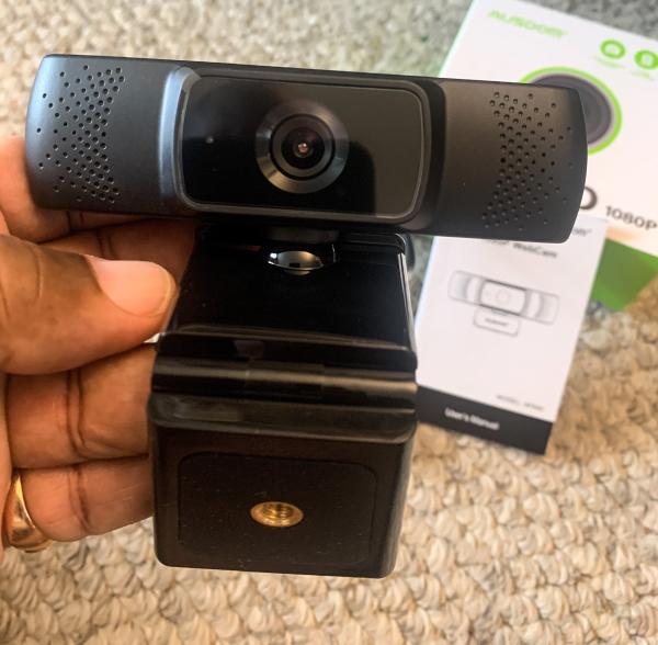 Ausdom 1080P Webcam 6