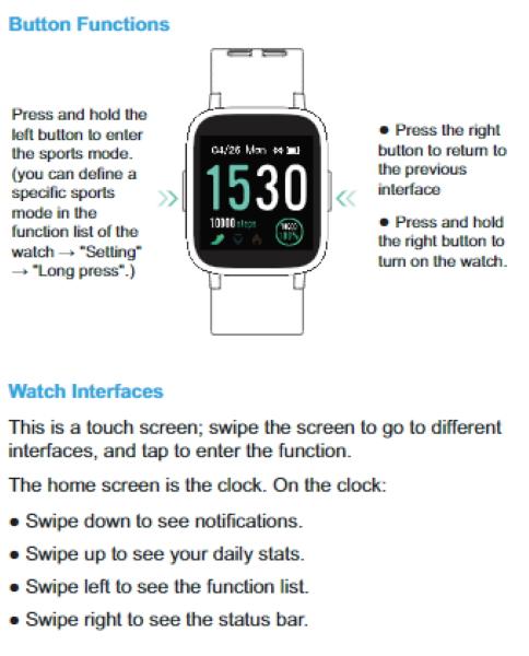 Arbily Smartwatch 22