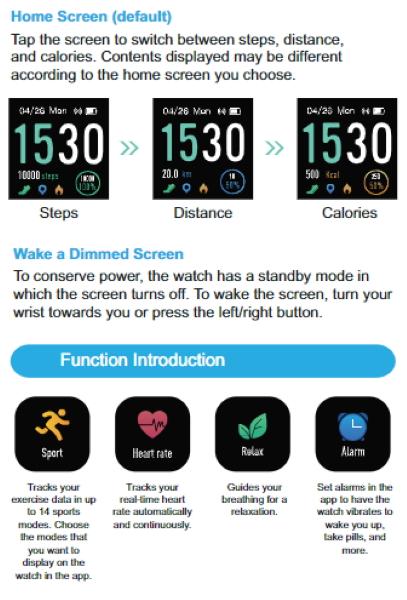 Arbily Smartwatch 24