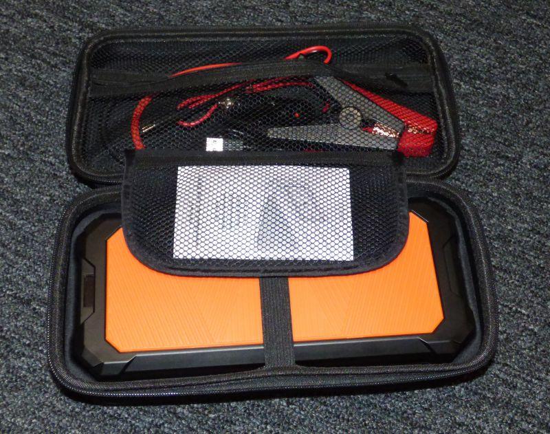supercapacitor car battery jump starter