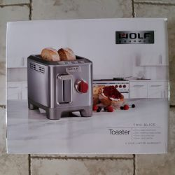 Wolf Gourmet 2 Slice Toaster Review