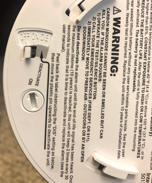 X Sense Carbon Monoxide Alarm 4