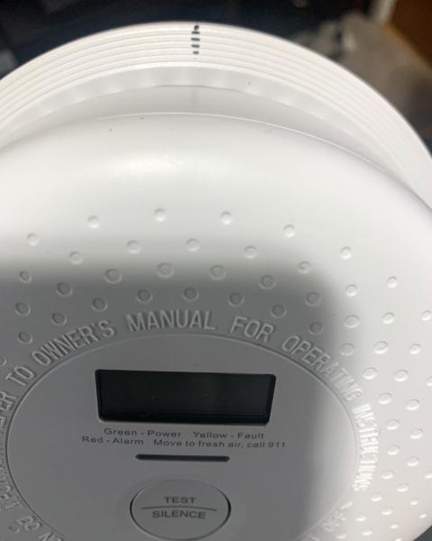 X Sense Carbon Monoxide Alarm 5