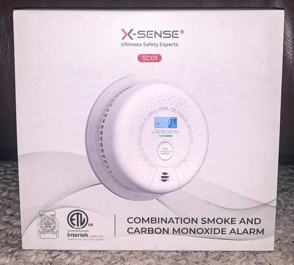X Sense Carbon Monoxide Alarm 9