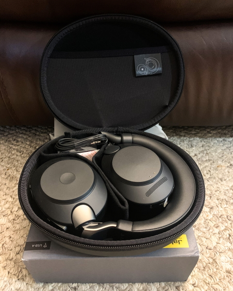 Jabra Evolve 2 85 Wireless Headset Review The Gadgeteer